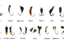 Основные виды мормышек