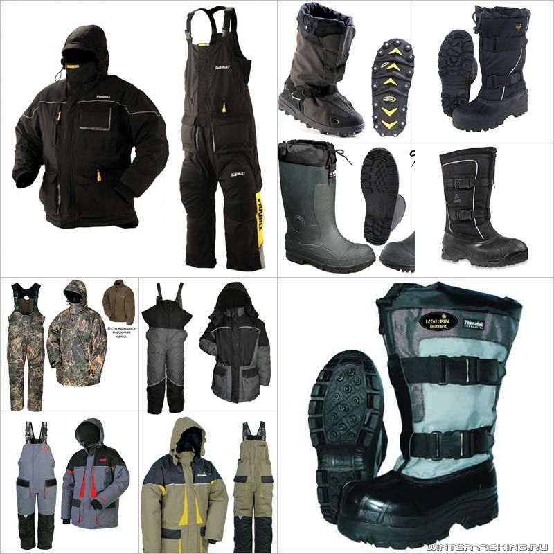Обувь и одежда для рыбалки зимой | Рыбалка зимой