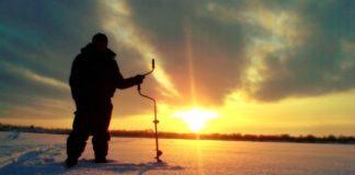 Рыбалка сетью зимой