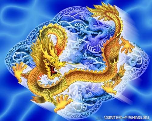 С Новым 2012 годом Дракона!