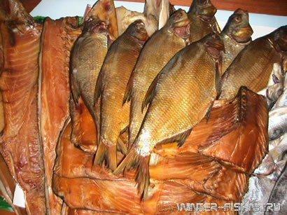 Рыба копченая