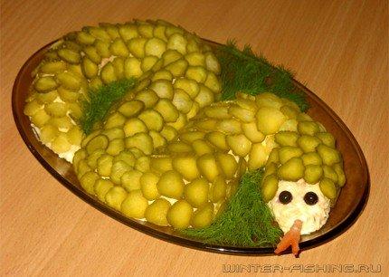 Новогодний салат 2012